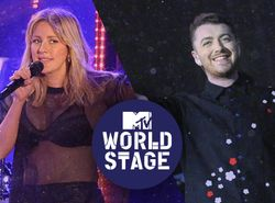 Ellie Goulding (MTV EMA 2015 World Stage Milano) + Sam Smith (Live from V Festival 2015)