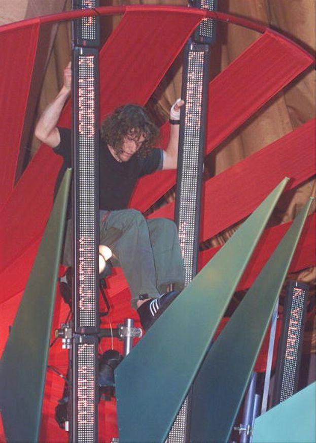 Tim C dei Rage Against the Machine nel 2000
