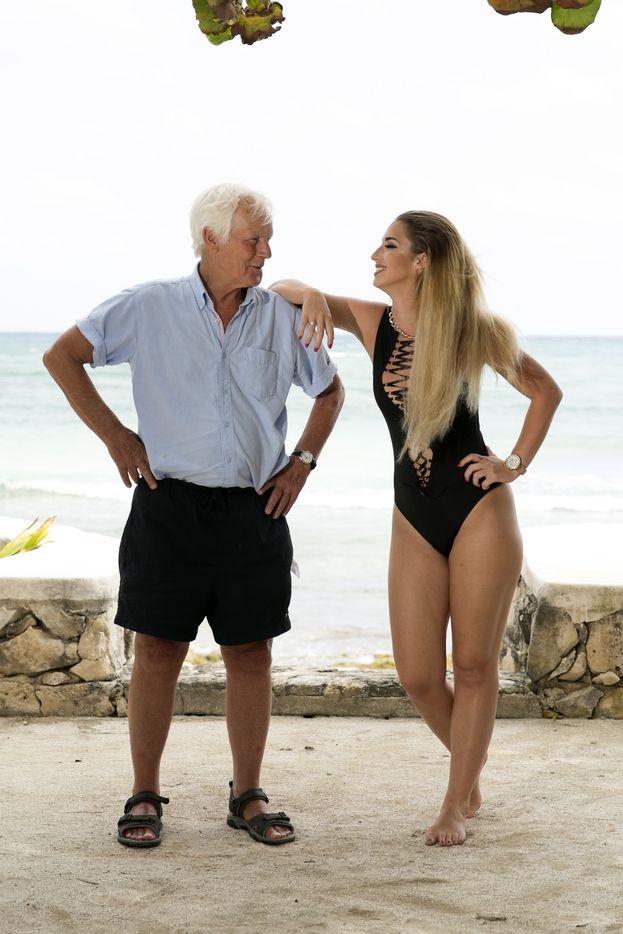 Paige e suo nonno Bob