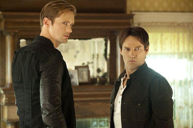 """Alexander Skarsgård in """"True Blood"""" - Ha fatto il provino per la parte di Bill Compton (andata a Stephen Moyer). Invece gli hanno dato la parte di Eric Northman."""