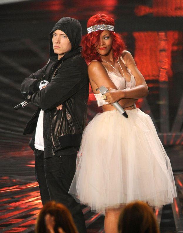 Eminem e Rihanna si esibiscono insieme