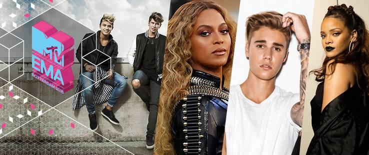 MTV EMA 2016: VOTA ORA!