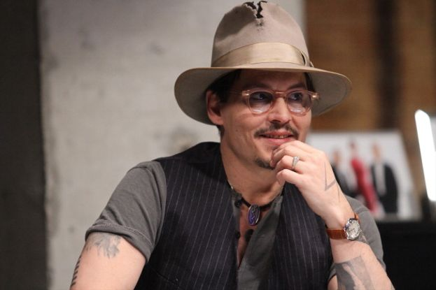 L'intramontabile Johnny Depp, padre dell'ormai sedicenne Lily-Rose e di John Christopher.