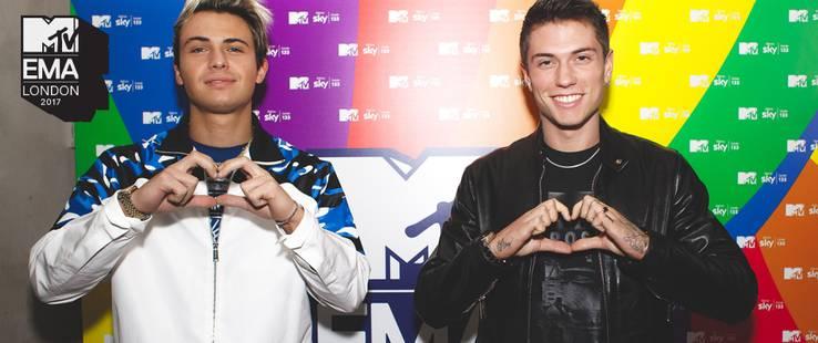 Speciale Benji & Fede @ MTV EMA 2017
