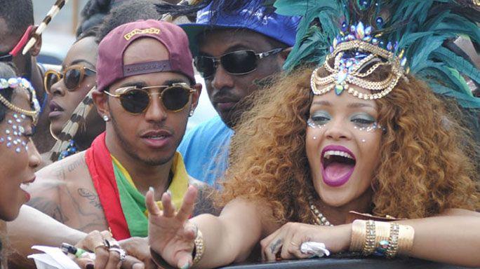 Il dictat di Rihanna a Lewis Hamilton