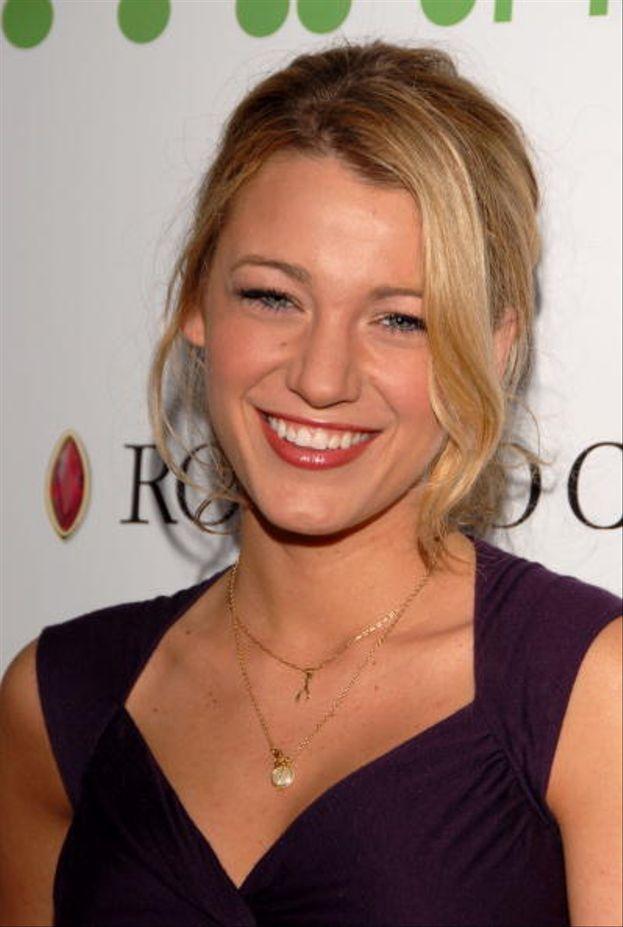 Blake Lively aka Serena van der Woodsen nel 2007