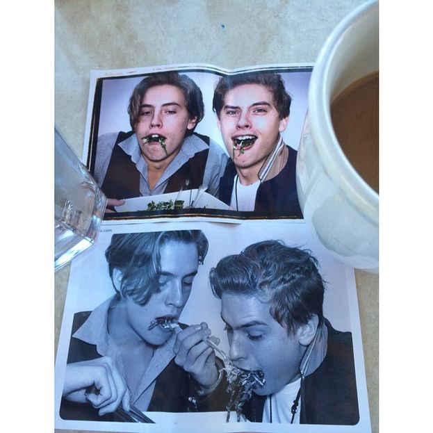 Dylan e Cole Sprouse - Arezzo