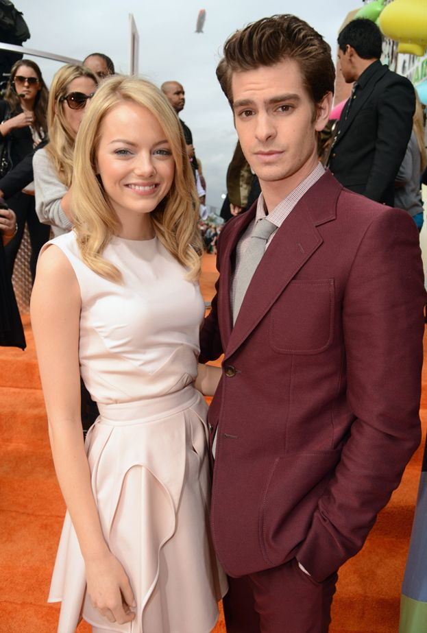 Emma Stone e Andrew Garfield ai Kids' Choice Awards del 2012