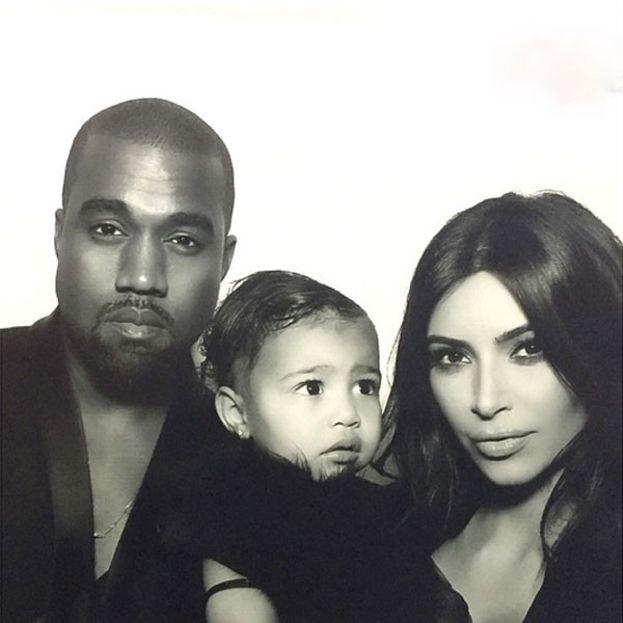 Kanye West e Kim Kardashian - oggi