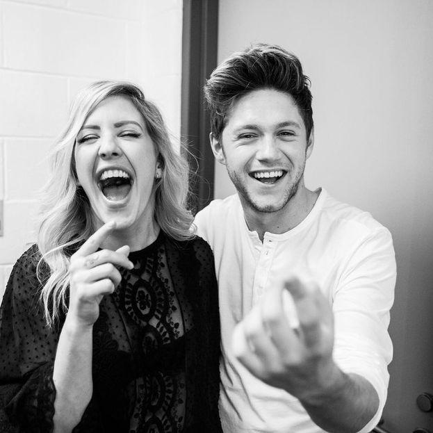 2016, matte risate con Ellie Goulding