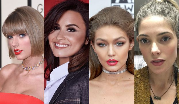 Taylor Swift, Demi Lovato, Gigi Hadid e Ashley Greene sono tutte state con...