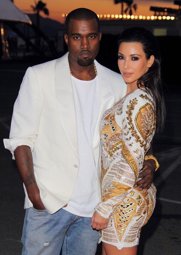 Kanye West e Kim Kardashian al Festival di Cannes 2012