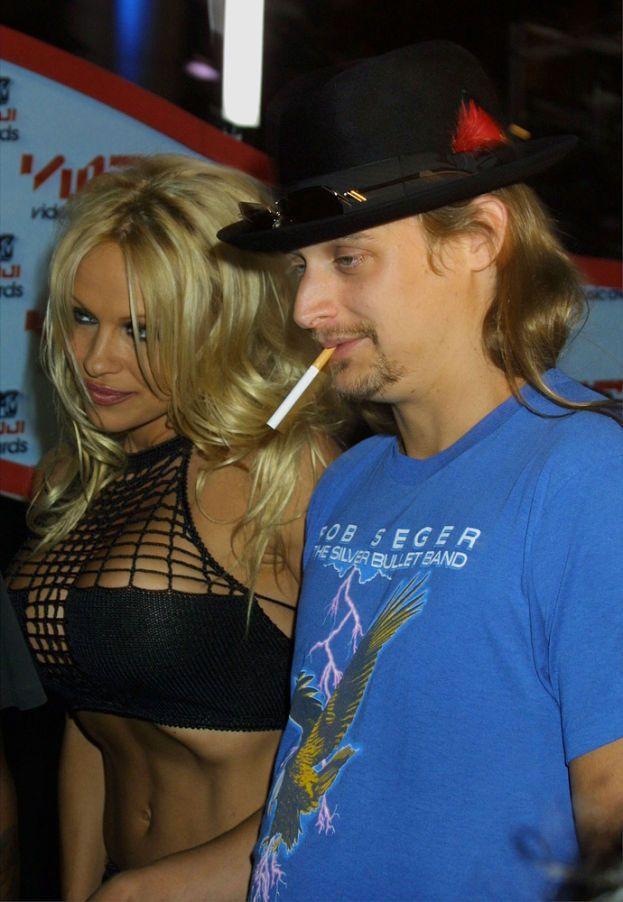 Pamela Anderson: 4 volte. Tommy Lee, Kid Rock e due volte con Rick Salomon