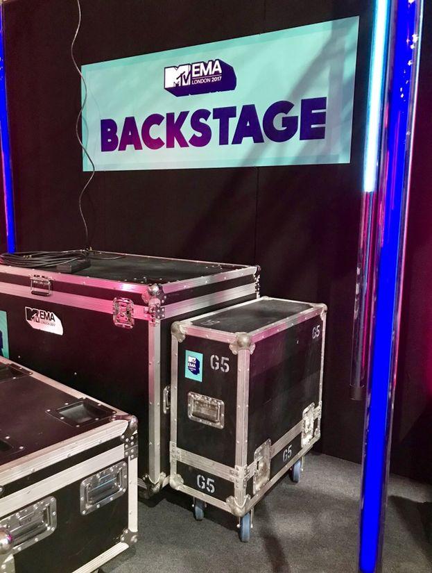 Nel backstage della SSE Arena