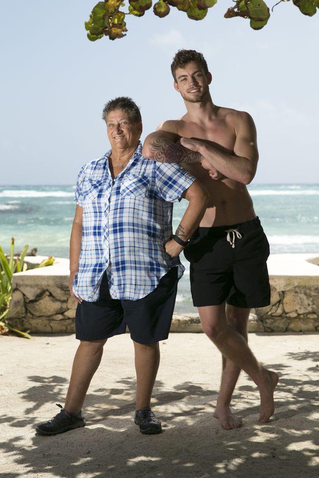 Dustin e e sua nonna Doreen