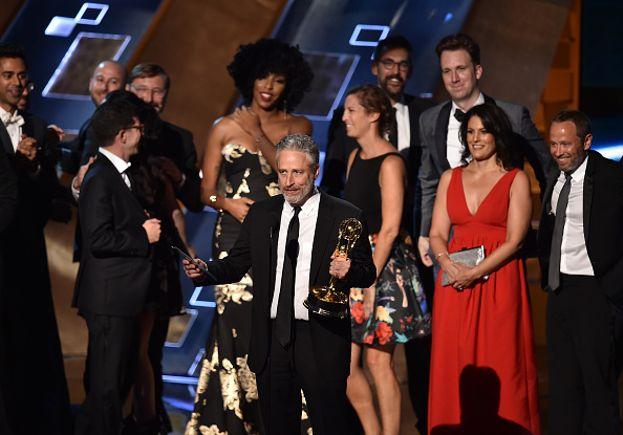 Jon Stewart e la sua crew