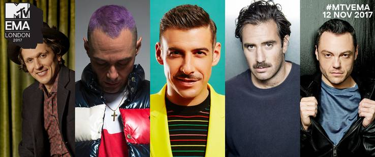 MTV EMA 2017: Best Italian Act