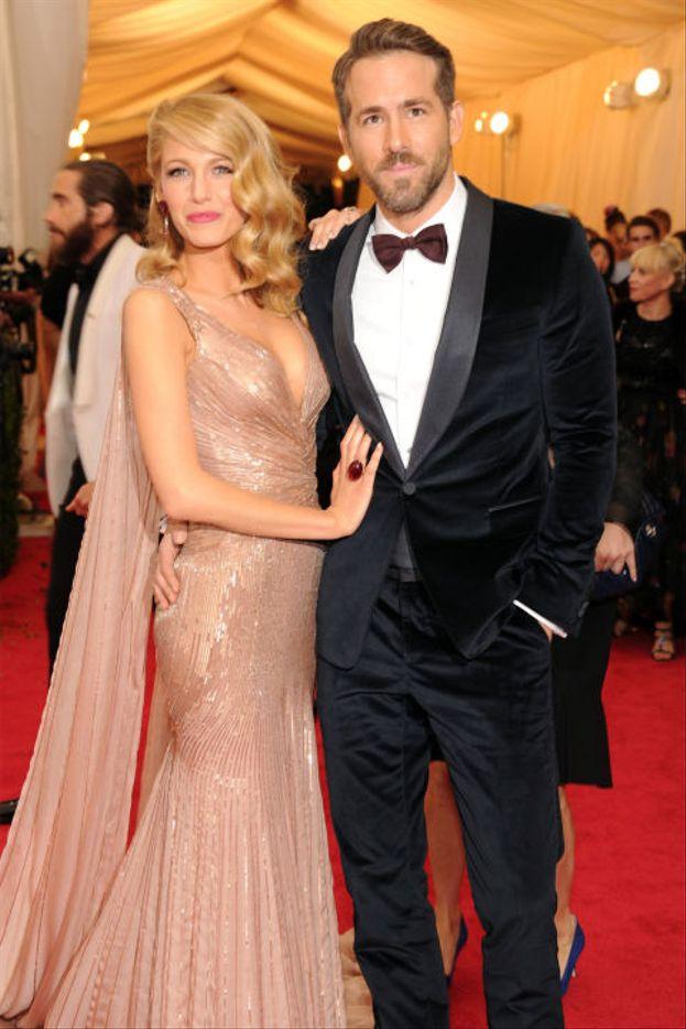 Il primo red carpet insieme di Blake Lively e Ryan Reynolds, nel 2014. Sono sposati dal 2012!