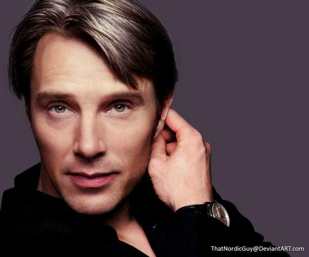 Benedict Cumberbatch + Mads Mikkelsen