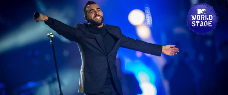 Marco Mengoni MTV World Stage