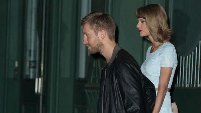 Taylor Swift e Calvin Harris visitano la fabbrica della Guinness