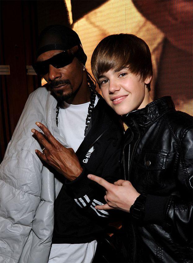 Con un giovanissimo Justin Bieber