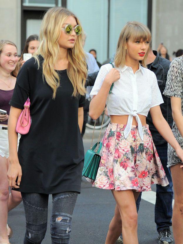 Taylor Swift e Gigi Hadid
