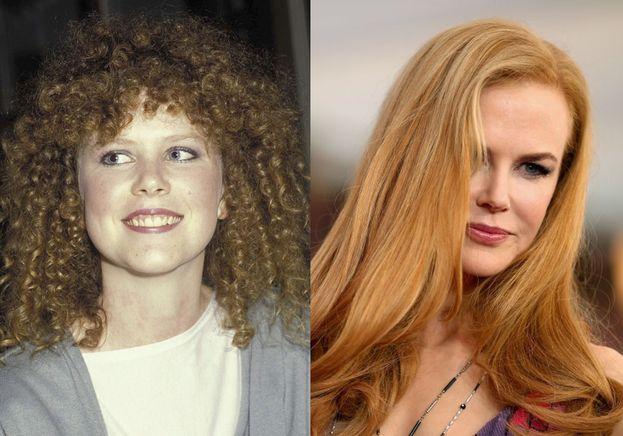 Se non ti avessimo detto noi che quella a sinistra è Nicole Kidman a 16 anni, probabilmente non l'avresti nemmeno riconosciuta.