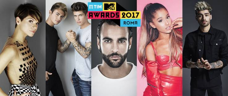 TIM MTV Awards 2017: nomination e categorie