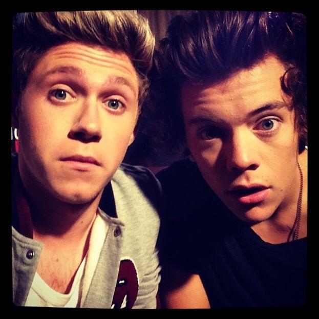 2013, selfie con Harry
