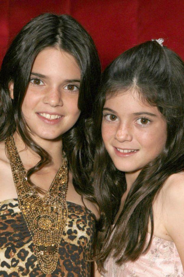 Kendall e Kylie Jenner - Dopo le Kardashian, ecco le due sorelle acquisite. Siamo ancora nel 2007.