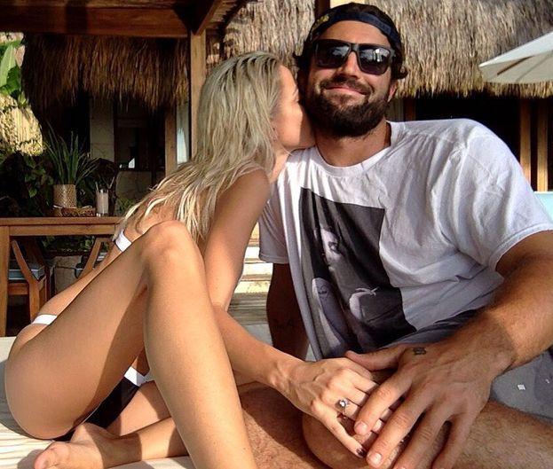 Brody Jenner (il fratellastro di Kendall e Kylie) e la fidanzata Kaitlynn Carter.