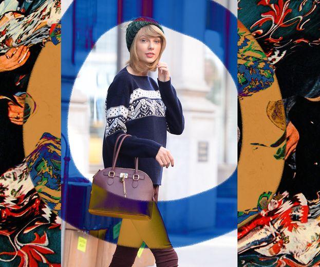 Cerchi un'idea per il tuo look delle feste? Taylor Swift ha sempre il maglione giusto