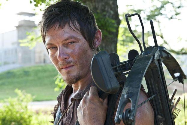 """Norman Reedus in """"The Walking Dead"""" - Ha fatto il provino per la parte di Merle. Invece gli hanno dato la parte di Daryl Dixon, creata apposta per lui dopo che lo hanno visto all'audizione!"""