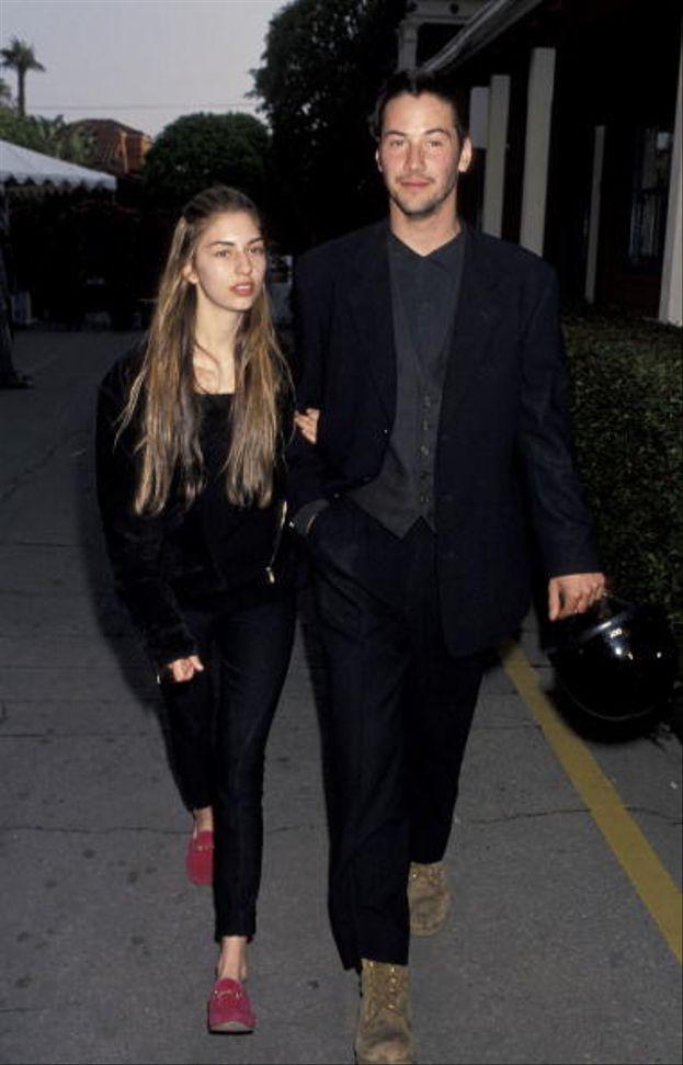 Keanu Reeves e Sofia Coppola