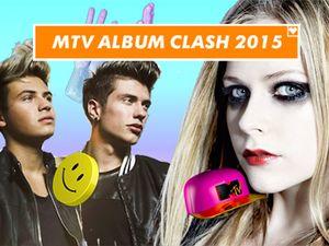 MTV Album Clash 2015