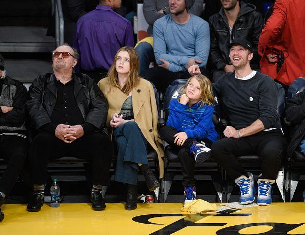 Jack Nicholson, Lorraine Nicholson e Moses Martin
