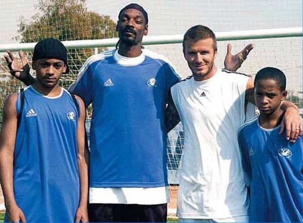 David Beckham e Snoop Dogg