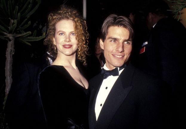 Nicole Kidman e Tom Cruise al party degli Oscar 1991