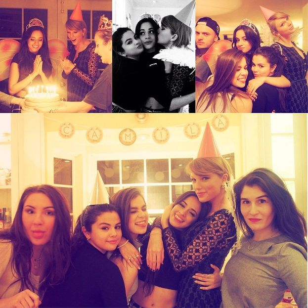 Camila Cabello: dentro. Vedasi le foto della festa per il suo diciottesimo compleanno, organizzata da... Taylor! Fra le invitate c'erano pure Selena, Hailee Steinfeld, le Haim, Hayley Williams e Jaime King.