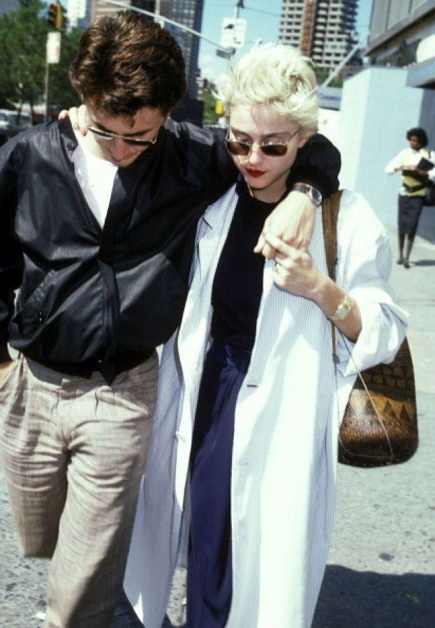 Madonna: 2 volte. Sean Penn e Guy Ritchie