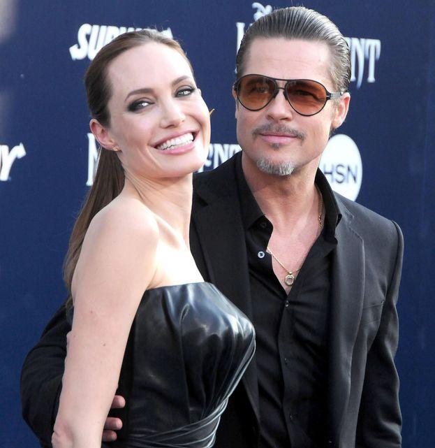 Brad Pitt e Angelina Jolie - oggi