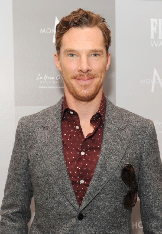 Benedict Cumberbatch – È così pallidamente inglese che viene difficile anche solo immaginarlo sotto la luce del sole.