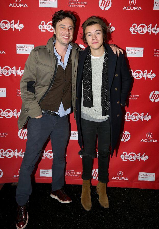 Zach Braff e Harry Styles