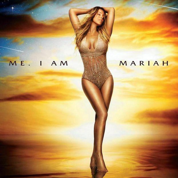 """Sei tu, Mariah? Sei davvero tu? (È la copertina dell'ultimo disco, """"Me. I Am Mariah... The Elusive Chanteuse"""" del 2014)."""
