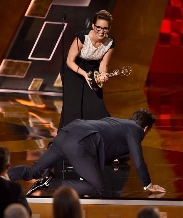 """Jon Hamm e il rocambolesco ritiro del premio per miglior attore in una serie drammatica per la serie """"Mad Men"""""""