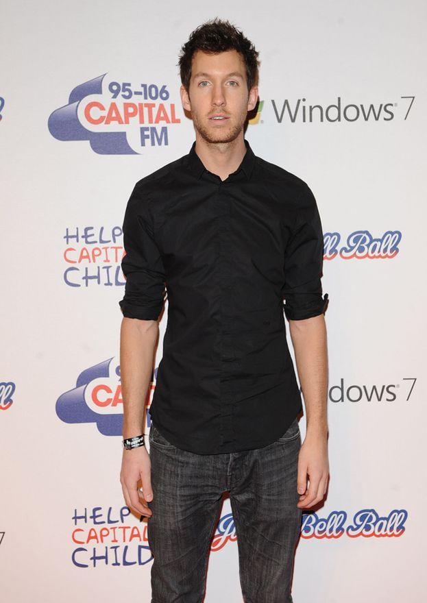 Calvin Harris nel 2011, magro come un chiodo...
