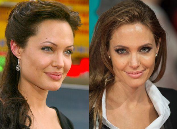 Fra gli anni Novanta e i primi Duemila Angelina Jolie ha attraversato una lunga fase di sopracciglia sottilissime, potate con la pinzetta. La moda era quella, e per fortuna è acqua passata.