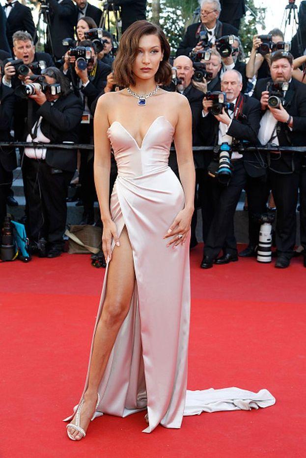 Bella Hadid ha indossato un abito firamto da Alexadre Vauthier