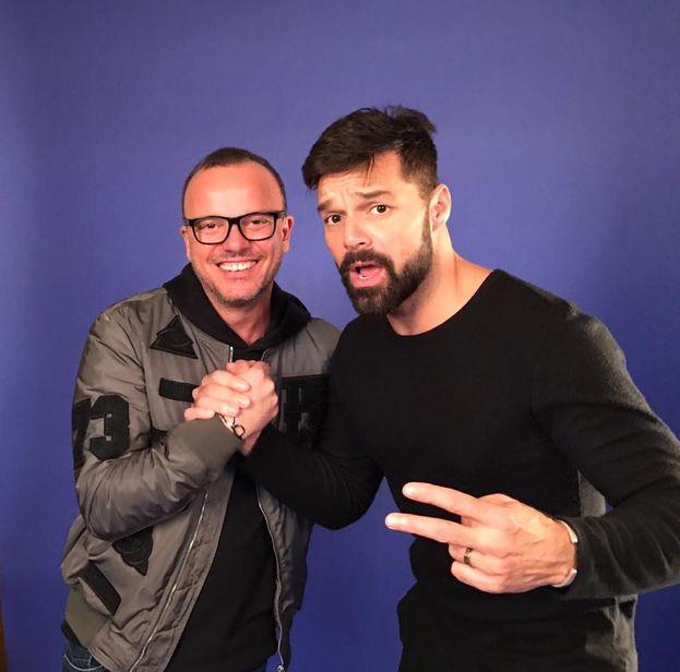 Napoli incontra Porto Rico: Gigi D'Alessio e Ricky Martin :)